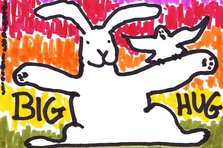 Big Hug bunny