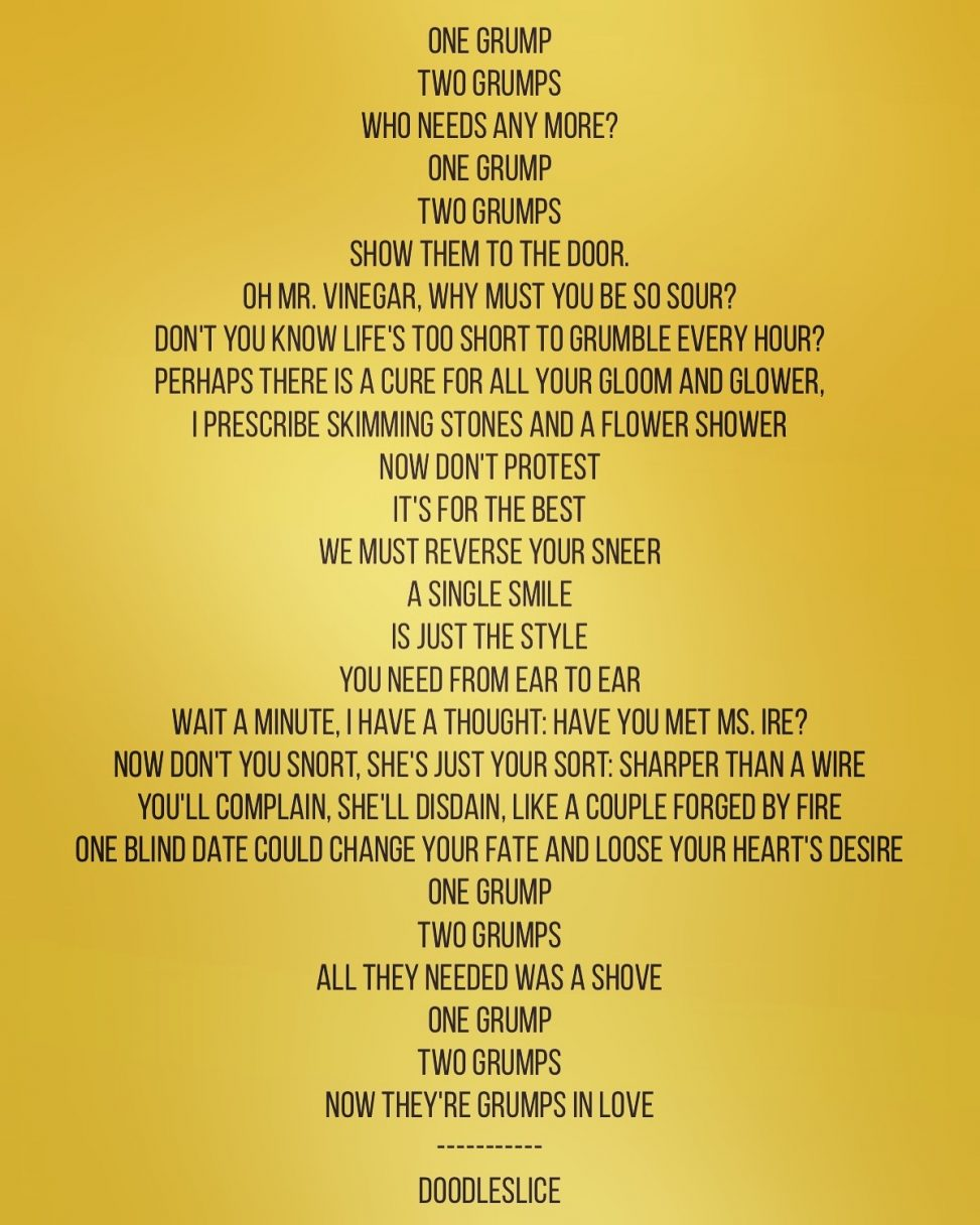 Poem - The Grumps