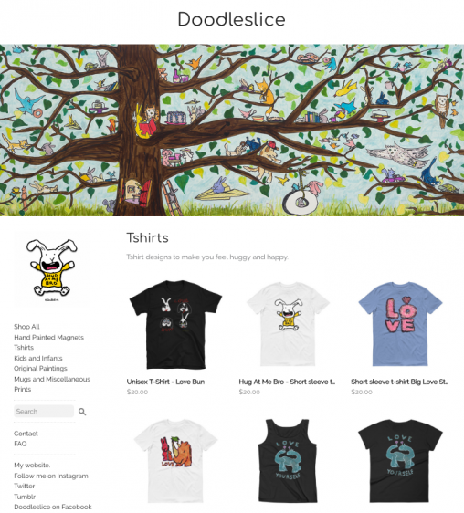 Doodleslice's shop on Storenvy
